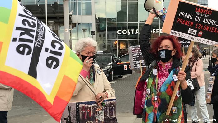 Polen Warschau | Donnerstag-Demo Polnische Omas