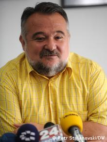 Marjan Gjorcev, ehemaliger Botschafter Nord-Mazedoniens in Bulgarien