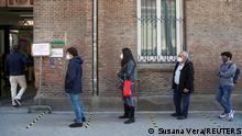 Spanien Madrid Regionalwahlen