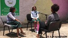 Äthiopien Corona Mit Rap Musik auf Covid-19 aufmerksam machen