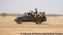 Burkina Faso Soldaten
