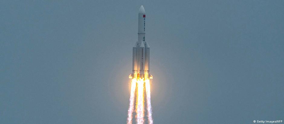 Weltspiegel | China Rakete Langer Marsch 5B