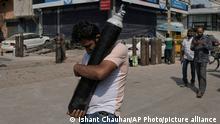 Weltspiegel | Indien Corona-Situation Delhi
