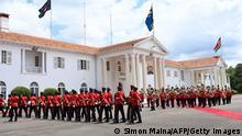 Kenia Nairobi | Besuch Samia Suluhu Hassan, Präsidentin Tansania