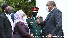 Kenia Nairobi | Besuch Samia Suluhu Hassan, Präsidentin Tansania | mit Uhuru Kenyatta