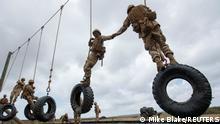 USA Weibliche Rekruten bei den US Marines