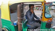 Indien Bhopal | Umgebaute Rikscha versorgt Corona Patienten mit Sauerstoff