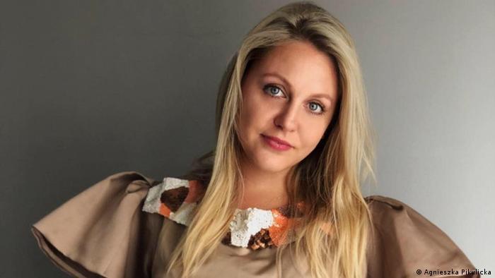Uzbek journalist Agnieszka Pikulicka