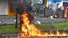 Kolumbien Proteste gegen Steuerreform Cali