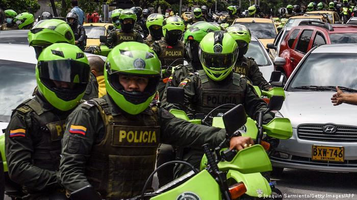 Kolumbien Proteste gegen Steuerreform Medellin