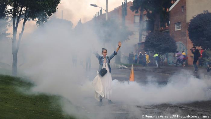 Kolumbien | Coronavirus | 1. Mai |Proteste in Bogota