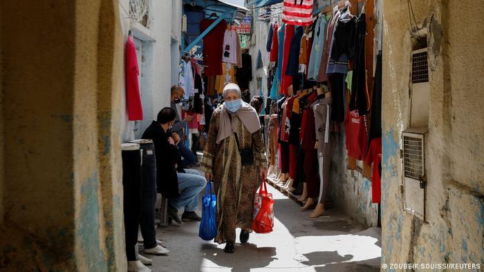 Tunesien Tunis Corona Covid-19 Impfung