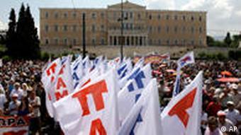 Griechenland Finanzkrise Generalstreik