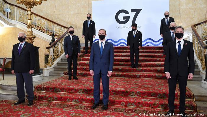 Глави МЗС країн-членів Великої сімки на зустрічі в Лондоні