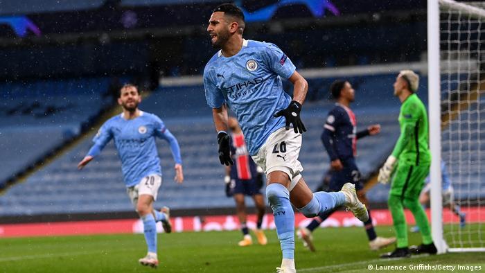 Champions League Halbfinale - Manchester City v Paris St Germain Tor: (2 : 0)