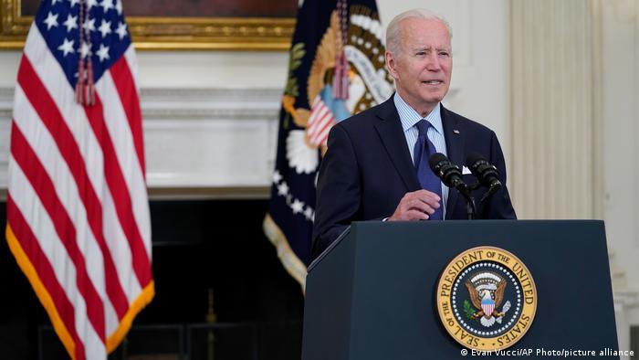 USA | COVID-19-Impfprogramm | Joe Biden Rede