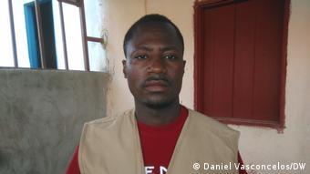 Angola Journalist Delpy Chipango