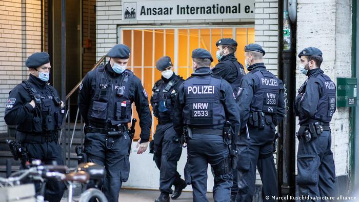 Обшуки в приміщеннях організації Ansaar International у Дюссельдорфі
