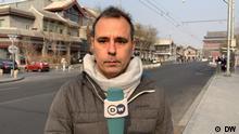 DW-Korrespondenten Mathias Bölinger in Peking