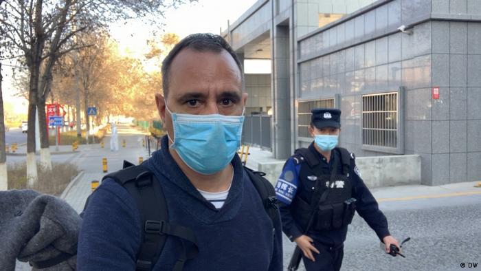 China | DW-Korrespondenten Mathias Bölinger in Peking