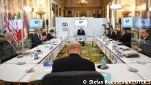 Weltspiegel | UK G7 Treffen London