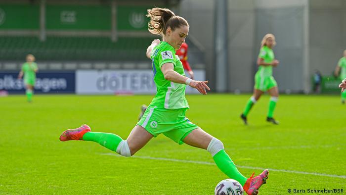 Fussball Frauen - SV Meppen vs VfL Wolfsburg, Ewa Pajor