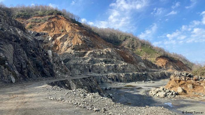 Türkei Haçapit   Umwelt Proteste gegen die Firma Cengiz Holding