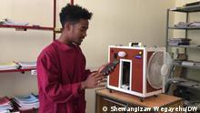 Äthiopien Hawassa | Student Akliil Assefa entwickelt Smart Phone App für den Haushalt