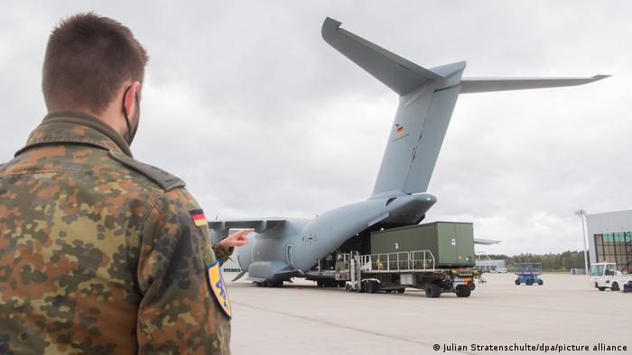Deutschland Hannover | Coronavirus | Bundeswehr Hilfsflug nach Indien