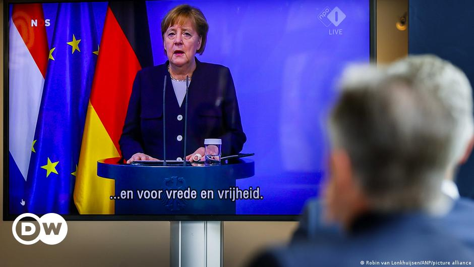 Dutch Liberation Day: Merkel says Germany has 'eternal responsibility' for Nazi crimes
