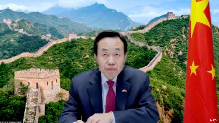 Duta Besar Cina untuk Swiss, Wang Shihting