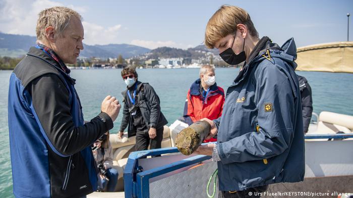 Los investigadores realizaron un estudio del lecho del lago entre diciembre de 2019 y febrero de 2021.