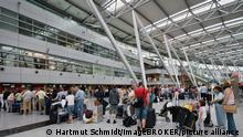 Architektur I Flughafen Düsseldorf I Terminal