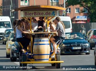 Grupo faz passeio na capital Berlim