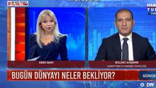 Screenshot der türkischen Fernsehsendung (Habertürk)