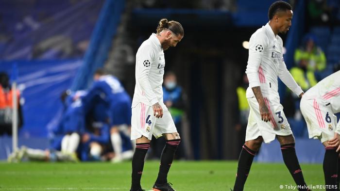 علت الحسرة على وجوه راموس وزملائه بعد دخول الهدف الثاني شباك فريقهم