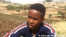 Äthiopien Zwiebelbauer