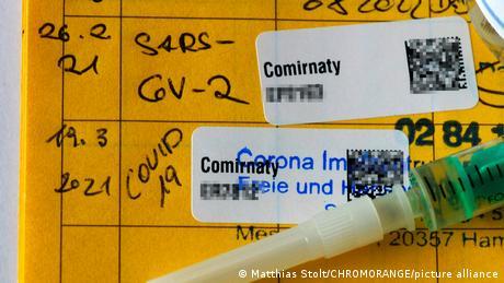 Dovada vaccinării în varianta pe hârtie