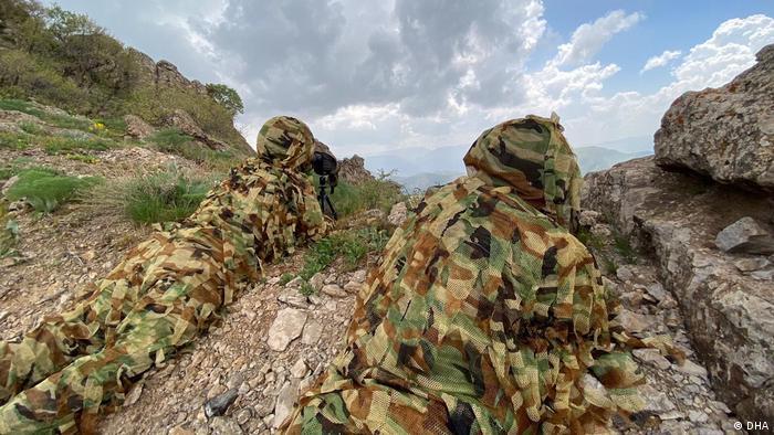Offensive der türkischen Armee gegen militante Kurden im Nordirak
