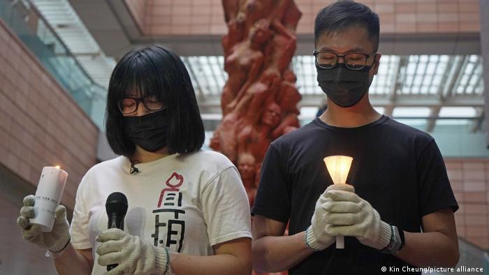Hongkong Joshua Wong Gericht Demonstration