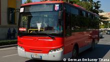 Albanien Tirana 50 Millionen Euro für Nahverkehr aus Deutschland