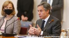 Ukraine Kiew | Besuch Anthony Blinken, US-Außenminister