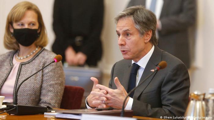 Antony Blinken in Kiew