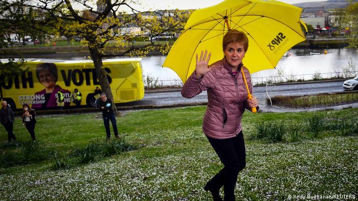 Perdana Menteri Skotlandia, Nicola Sturgeon