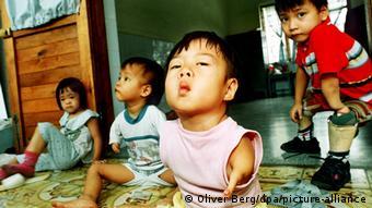 Βιετνάμ θύματα του Πορτοκαλί παράγοντα