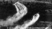 Vietnamkrieg USA Einsatz von Entlaubungsmittel Agent Orange
