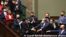Polen Warschau | Parlament beschließt EU-Wiederaufbaufond