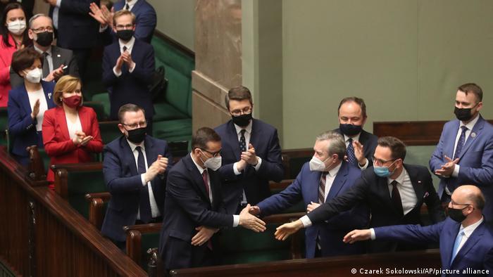 Sejm po głosowaniu ws. KPO