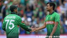 England Cricket Bangladesch Mustafizur Rahman und Shakib Al Hasan