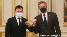 Ukraine Anthony Blinken besucht Kiew | Volodymyr Zelenskiy